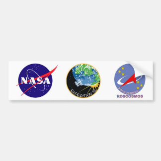 Expedition 19 bumper sticker