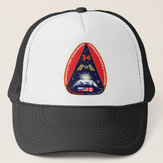 Expedition 34 Flight Patch Trucker Hat
