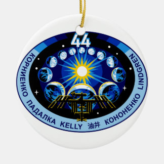 Expedition 44 Logo Ceramic Ornament
