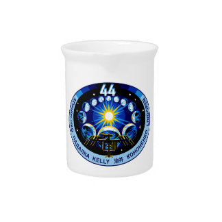 Expedition 44 Logo Drink Pitcher