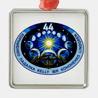 Expedition 44 Logo Metal Ornament