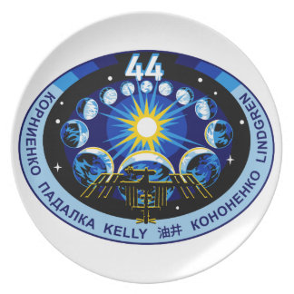 Expedition 44 Logo Plate