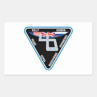 Expedition 46 Logo Rectangular Sticker