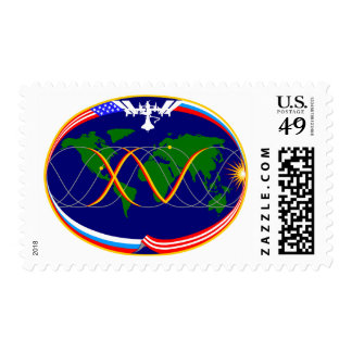 Expedition Crews:  Expedition 15 Mission Patch Postage
