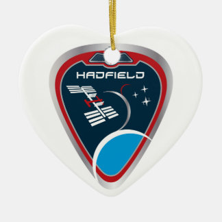 Expedition Crews:   Expedition 34 Chris Hadfield Ceramic Ornament