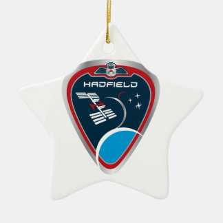 Expedition Crews:   Expedition 34 Chris Hadfield Ceramic Ornament