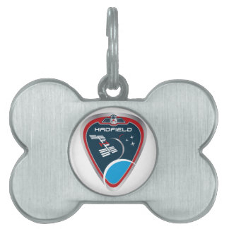 Expedition Crews:   Expedition 34 Chris Hadfield Pet ID Tag