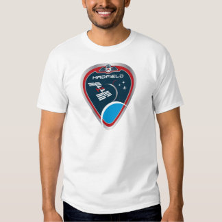 Expedition Crews :   Expedition 34 Chris Hadfield T-Shirt