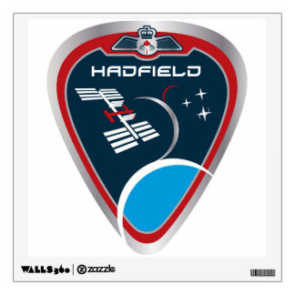 Expedition Crews:   Expedition 34 Chris Hadfield Wall Sticker