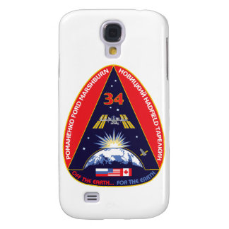 Expedition Crews:   Expedition 34 Flight Patch Samsung Galaxy S4 Covers