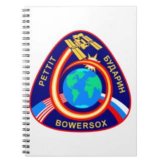 Expedition Crews:  Expedition 6 Spiral Notebooks