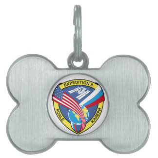 Expedition Crews:  Expedition 8 Pet ID Tag