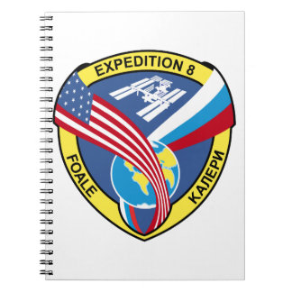 Expedition Crews:  Expedition 8 Spiral Notebooks