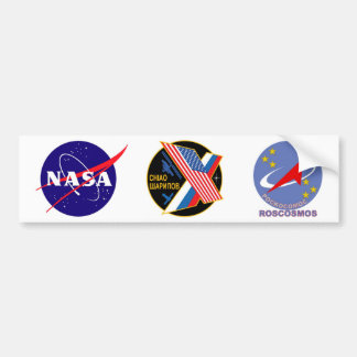 Expedition Crews to the ISS:  Expedition 10 Bumper Sticker
