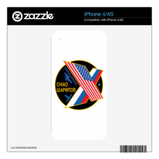 Expedition Crews to the ISS:  Expedition 10 Skins For iPhone 4S