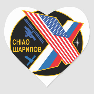 Expedition Crews to the ISS:  Expedition 10 Heart Stickers