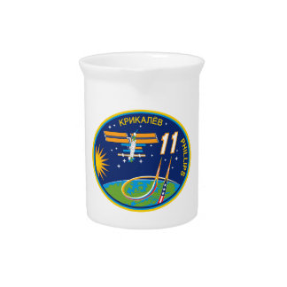 Expedition Crews to the ISS:  Expedition 11 Beverage Pitcher