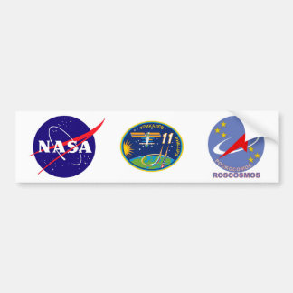 Expedition Crews to the ISS:  Expedition 11 Bumper Sticker