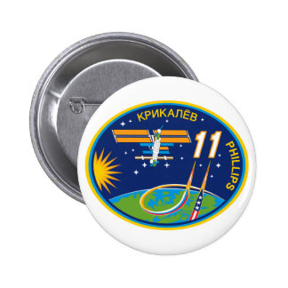 Expedition Crews to the ISS:  Expedition 11 Button