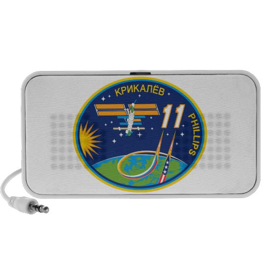 Expedition Crews to the ISS:  Expedition 11 Mini Speaker