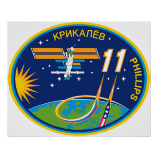 Expedition Crews to the ISS:  Expedition 11 Posters