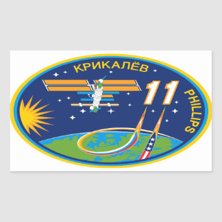 Expedition Crews to the ISS:  Expedition 11 Stickers