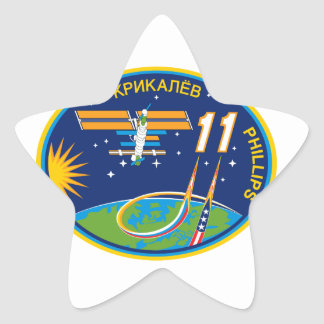 Expedition Crews to the ISS Expedition 11 Star Stickers