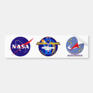 Expedition Crews to the ISS:  Expedition 12 Bumper Sticker
