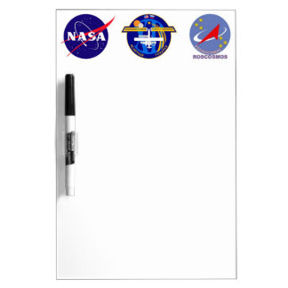 Expedition Crews to the ISS:  Expedition 12 Dry Erase Board
