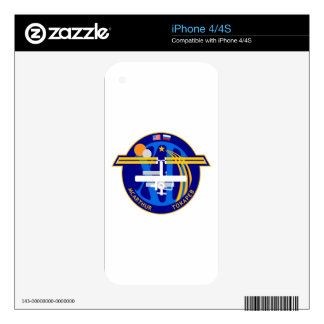 Expedition Crews to the ISS:  Expedition 12 Skins For iPhone 4S