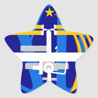 Expedition Crews to the ISS Expedition 12 Star Stickers