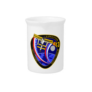 Expedition Crews to the ISS:  Expedition 13 Beverage Pitcher