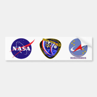 Expedition Crews to the ISS:  Expedition 13 Bumper Sticker