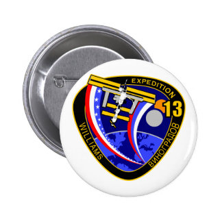 Expedition Crews to the ISS:  Expedition 13 Button