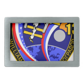 Expedition Crews to the ISS:  Expedition 13 Rectangular Belt Buckle