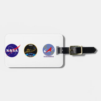 Expedition Crews to the ISS:  Expedition 14 Bag Tag