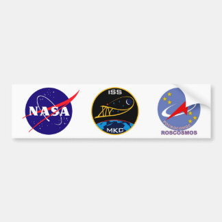 Expedition Crews to the ISS:  Expedition 14 Bumper Sticker