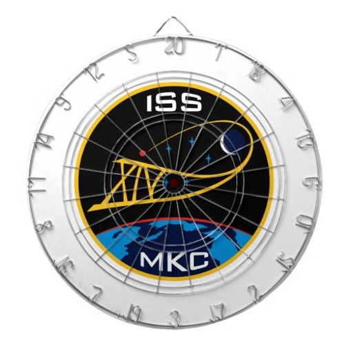 Expedition Crews to the ISS:  Expedition 14 Dartboard