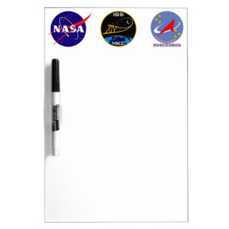 Expedition Crews to the ISS:  Expedition 14 Dry Erase Board