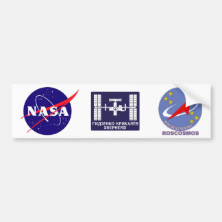 Expedition Crews to the ISS:  Expedition 1 Bumper Sticker