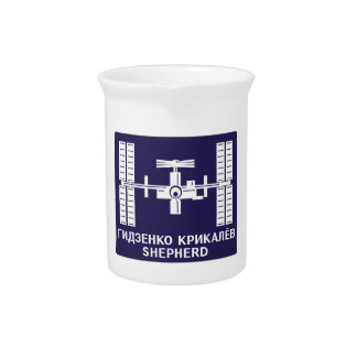 Expedition Crews to the ISS:  Expedition 1 Drink Pitcher