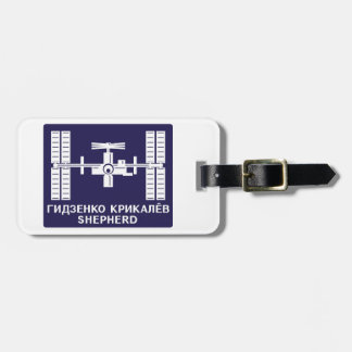 Expedition Crews to the ISS:  Expedition 1 Luggage Tag