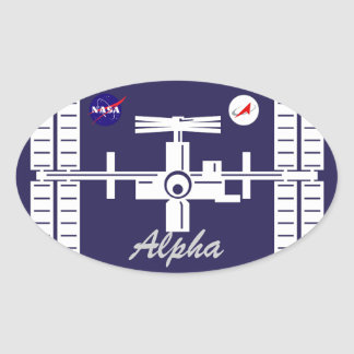 Expedition Crews to the ISS:  Expedition 1 Oval Sticker