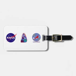 Expedition Crews to the ISS:  Expedition 2 Bag Tag