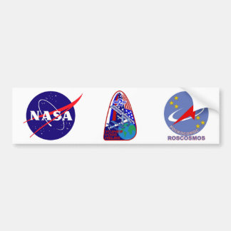 Expedition Crews to the ISS:  Expedition 2 Bumper Sticker