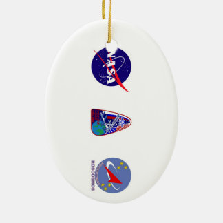 Expedition Crews to the ISS:  Expedition 2 Christmas Ornament