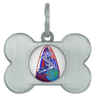 Expedition Crews to the ISS:  Expedition 2 Pet Tag