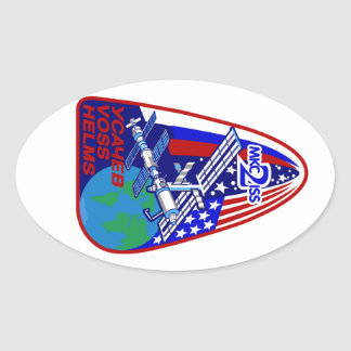 Expedition Crews to the ISS:  Expedition 2 Stickers