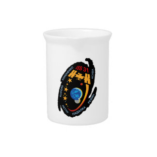 Expedition Crews to the ISS:  Expedition 31 Drink Pitcher