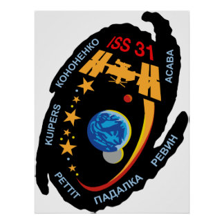 Expedition Crews to the ISS:  Expedition 31 Poster